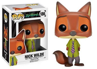 TOYS : JUGUETES -FUNKO POP  DISNEY Zootropolis : Zootopia  Nick Wilde : Figura de Vinilo   Producto Oficial Película 2016 | A partir de 3 años  Comprar en Amazon España & buy Amazon USA