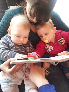 silent sunday, reading to babies