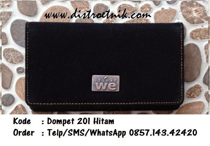 dompet jeans it just we wt 201 hitam