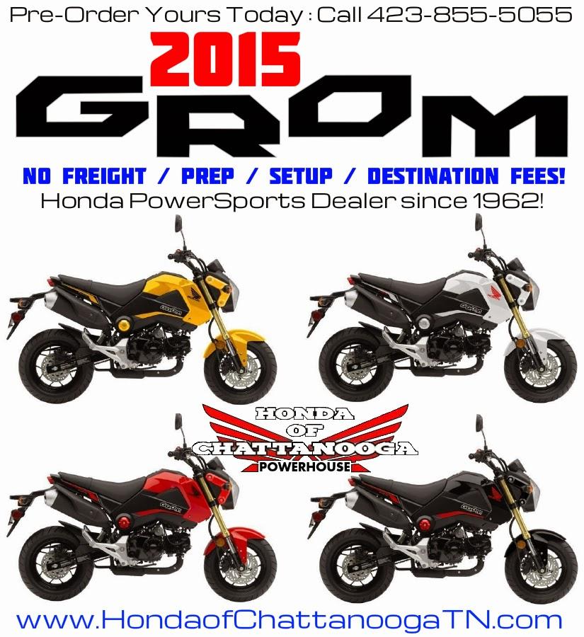 2015 Honda Grom For Sale Release Date Colors Price Chattanooga TN GA AL