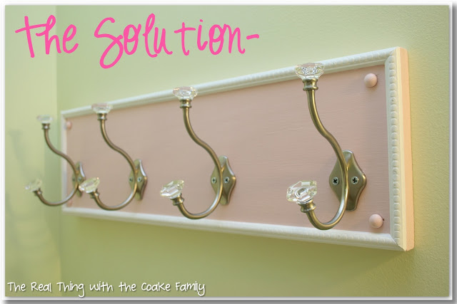 This DIY towel rack is so inexpensive and easy to make. It will look great in my bathroom or entry hallway and help keep us organized along with maximizing our hanging space.
