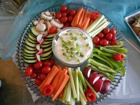 veggie tray baby shower of the veggie tray that my