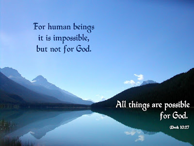 Mark 10:27 Bible Verse