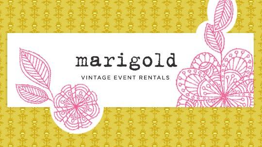 marigold {vintage event rentals}