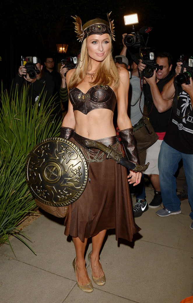 Paris Hilton – Casa Tequila Halloween Party in Beverly Hills