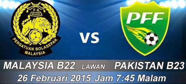 Malaysia B22 Vs Pakistan B23 26 Feb 2015