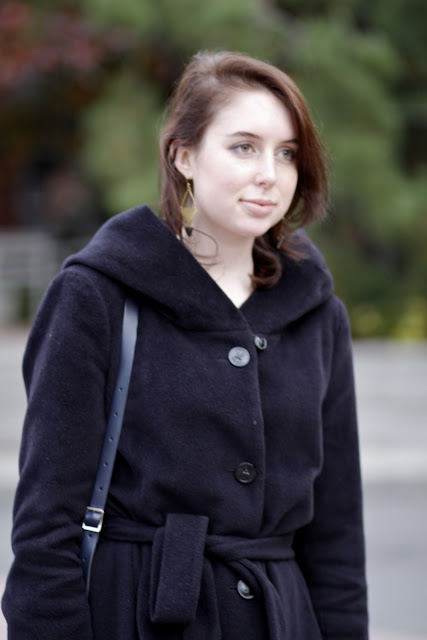 laura stowell hooded wrap coat seattle street style fashion it's my darlin'