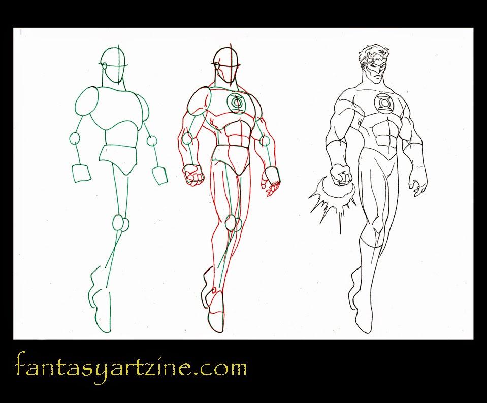 comment dessiner des heros de bd