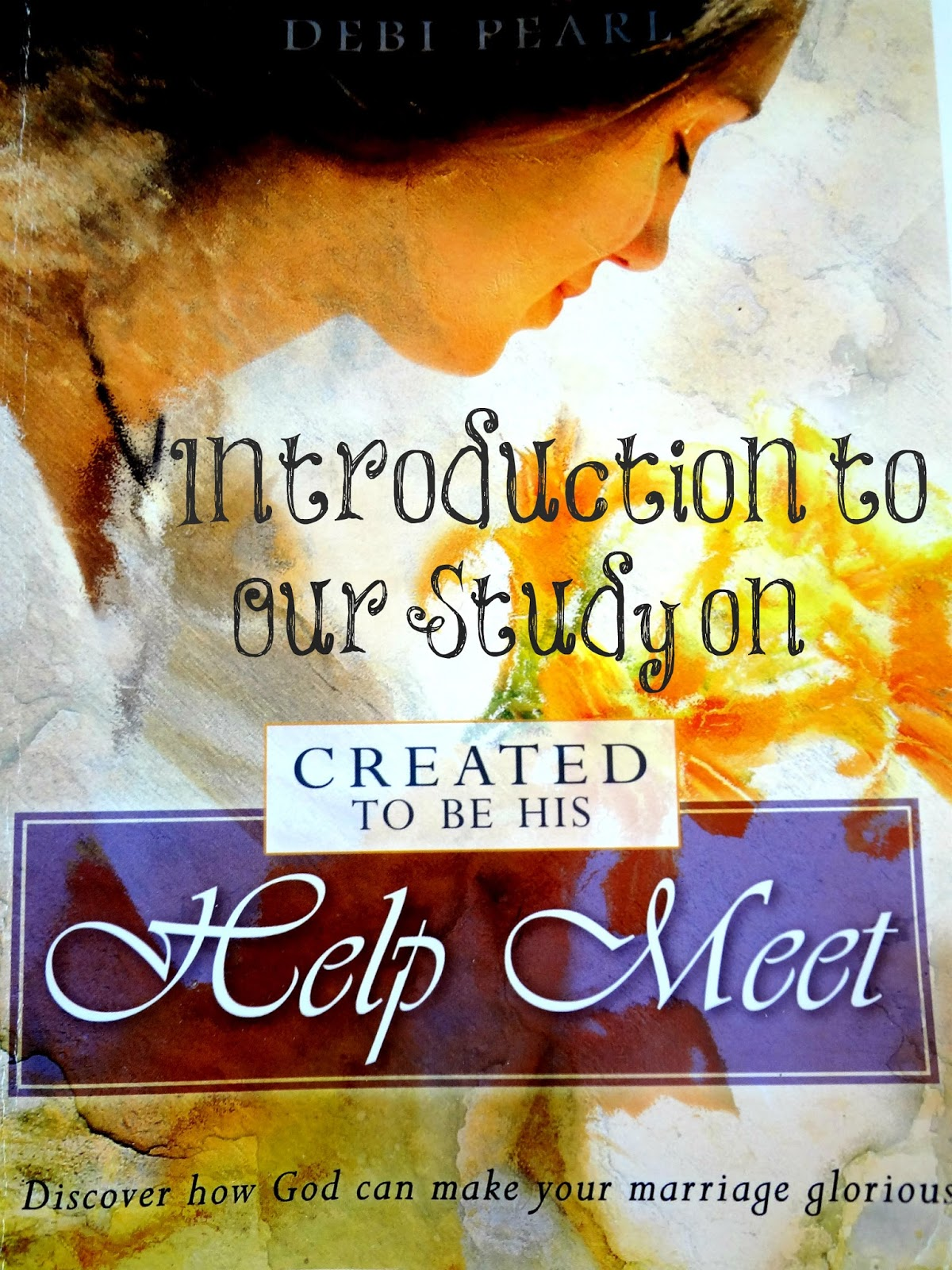 created to be his help meet
