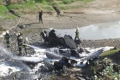 Tragis, Pesawat tempur F-16 Bahrain Jatuh di dekat Arab Saudi