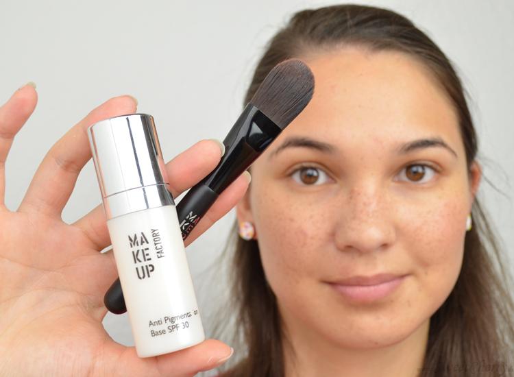 Wie das Make-Up wenn aufzutragen gibt es die Sommersprossen