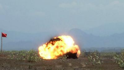 PT Pindad (Persero) Laksanakan Uji Statis Warhead Roket