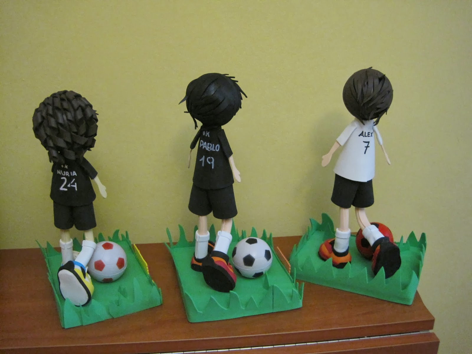 fofuchas futbolistas