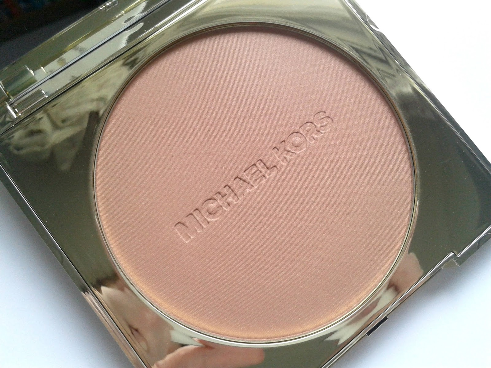 Michael Kors Bronze Powder in Glow Beauty Review Packaging
