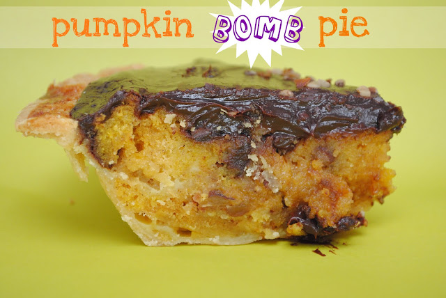 Pumpkin Bomb Pie