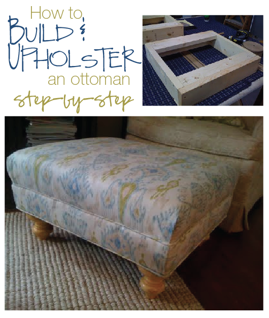 furniture reincarnated how to build and upholster an ottoman