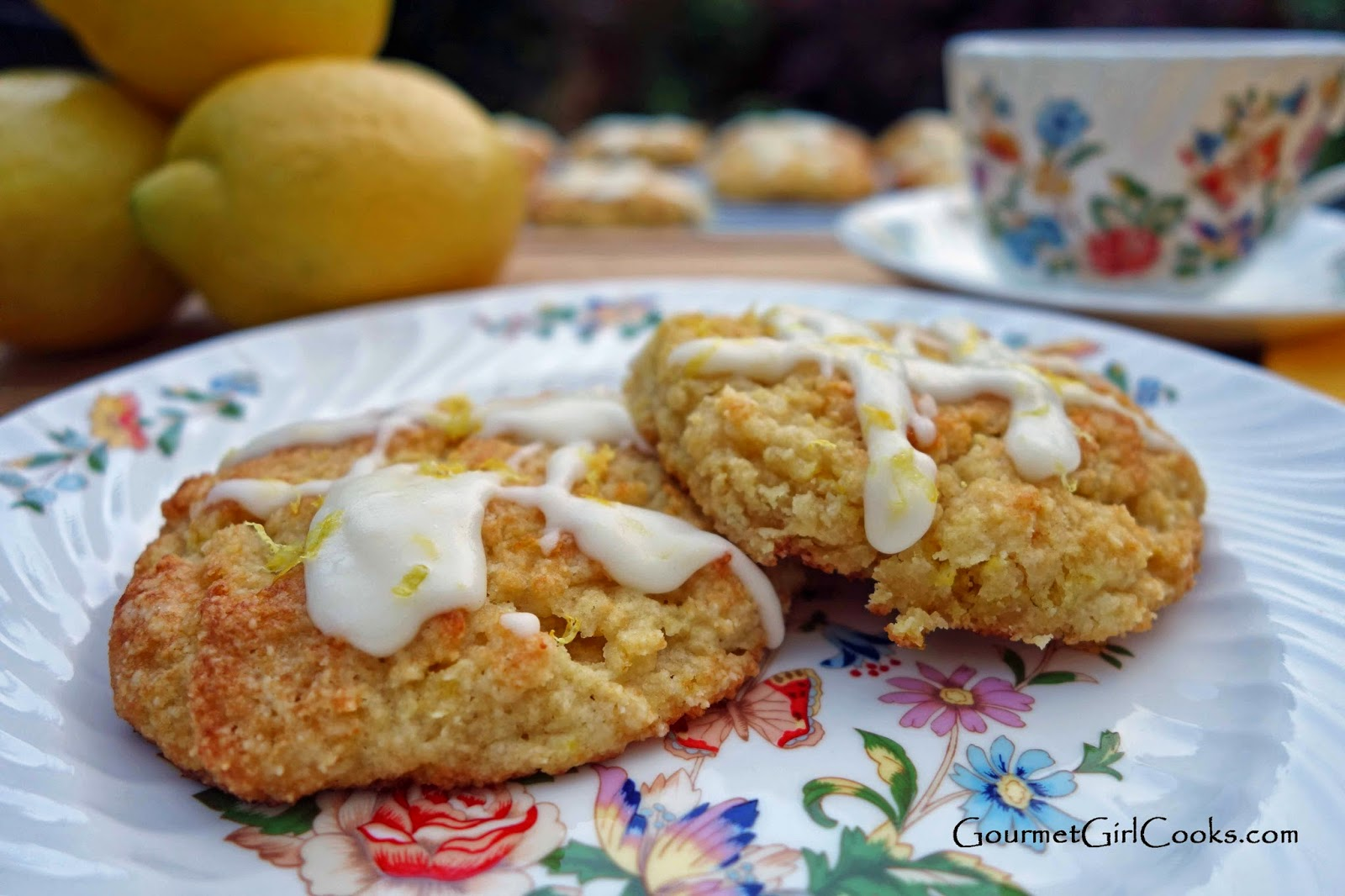 Almond Flour Lemon Buttermilk Scones Recipe | In The ...