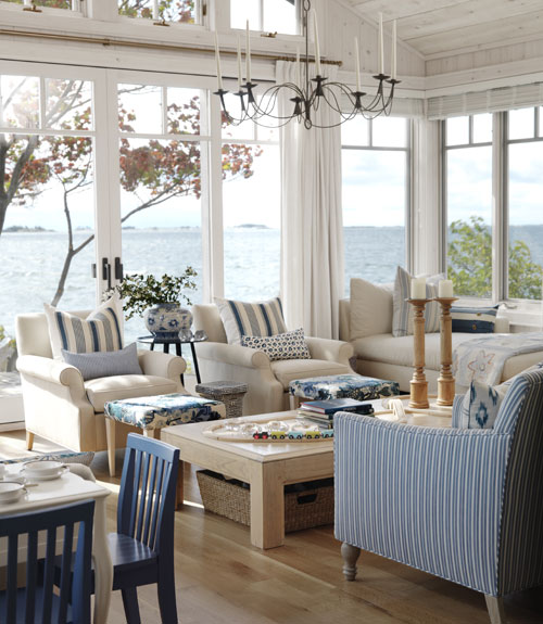Tiffany leigh interior design cottage style for Hamptons beach house interiors