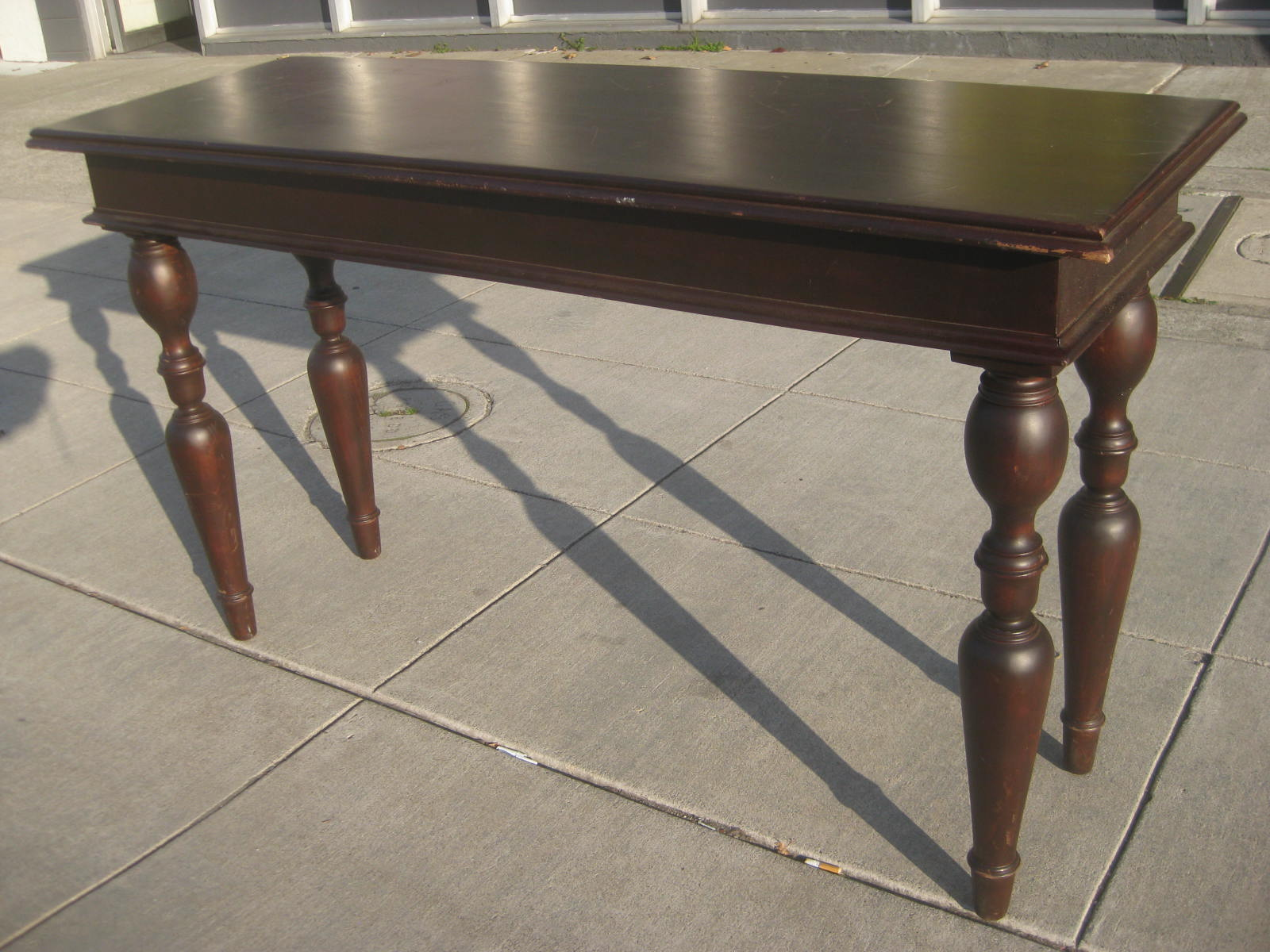 Uhuru furniture collectibles sold mahogany console - Table console extensible solde ...