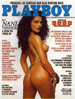 Nani Venâncio - Playboy 1989