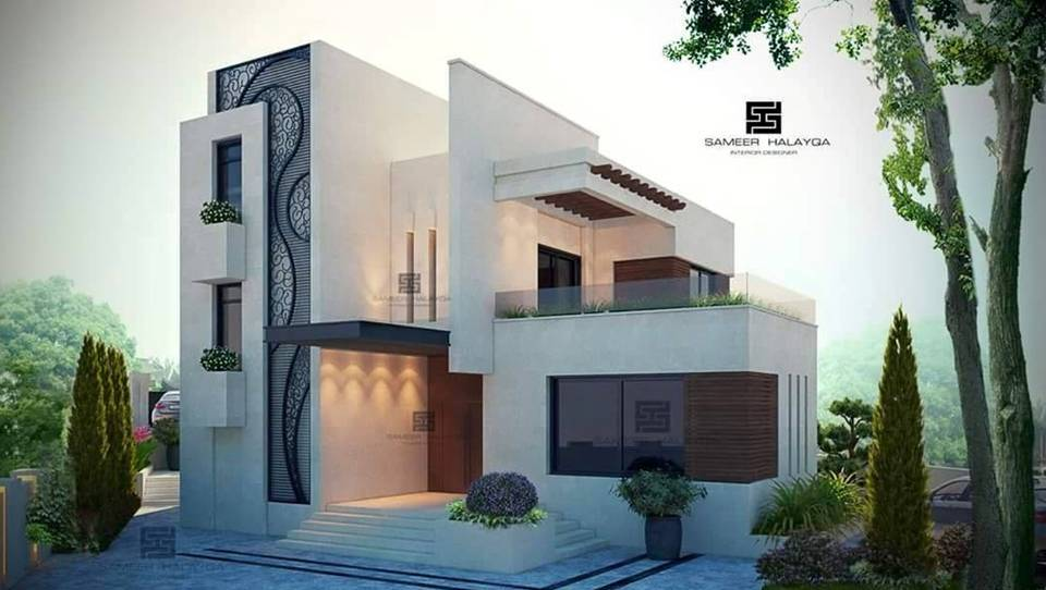 Exterior Villa Designs By The Best Designer