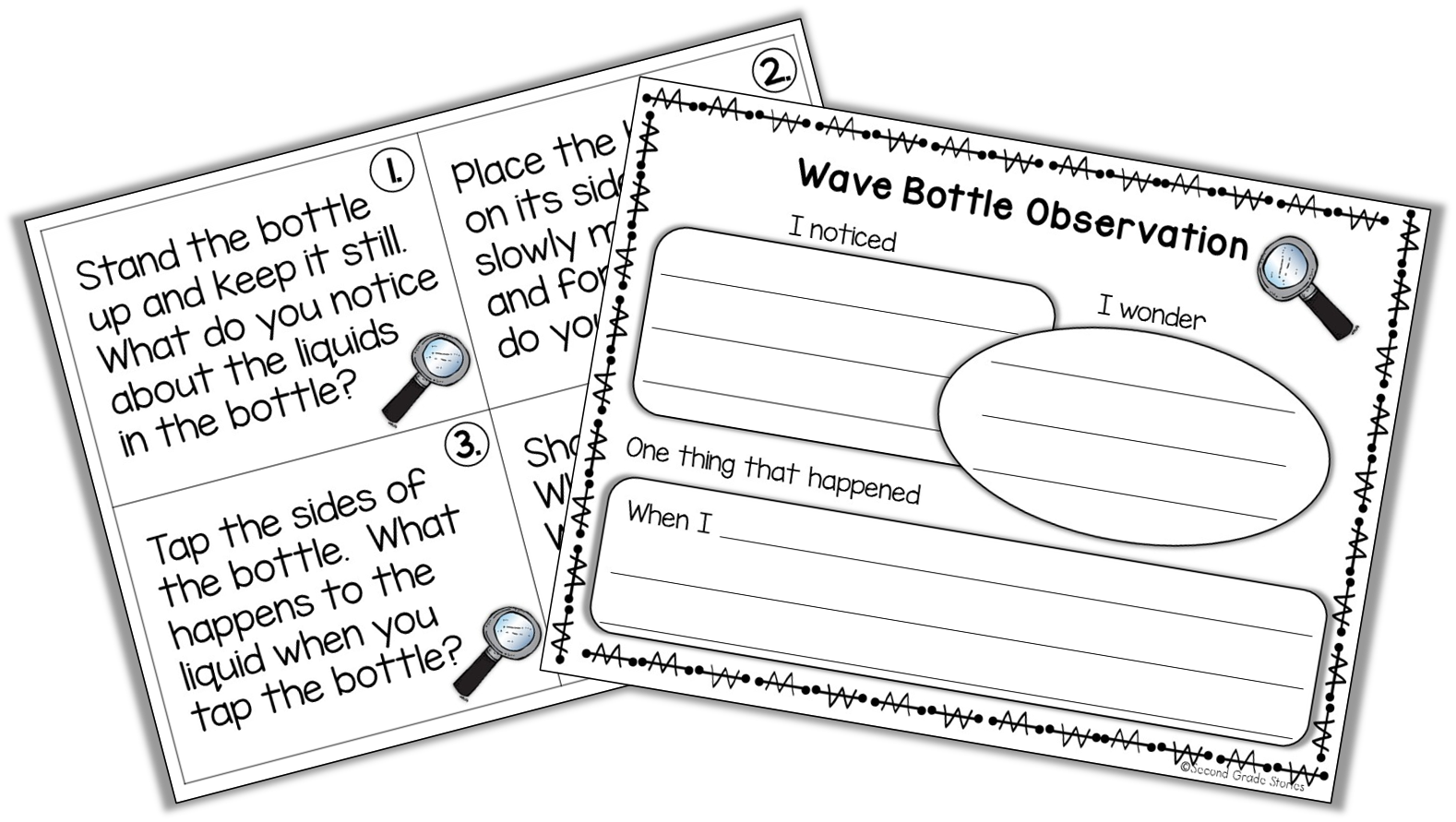 free sheets to use with a wave bottle