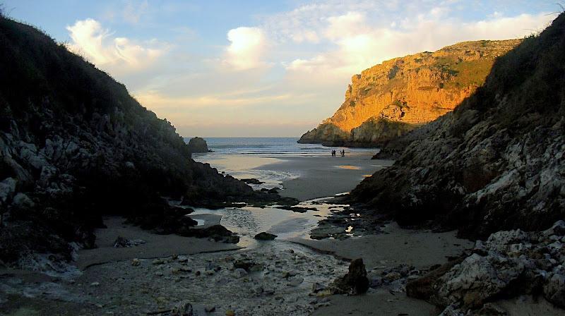 Playa de Fuentes en San Vicente de la Barquera