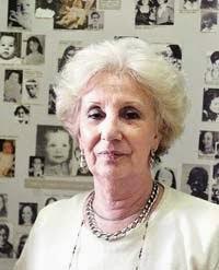 Estela de Carlotto y su participacion en la desaparicion forzada de personas.