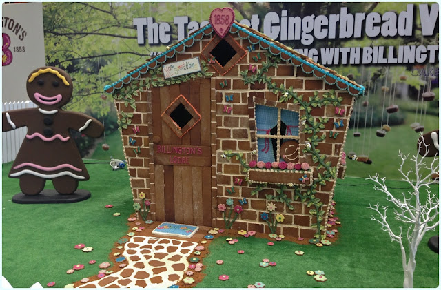 Cake and Bake Show Manchester 2013 - Gingerbread Village