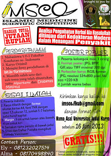 Info Islamic Medicine Scientific Motivation 2013