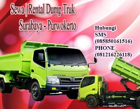 Sewa Dump Truk Murah Surabaya - Purwokerto