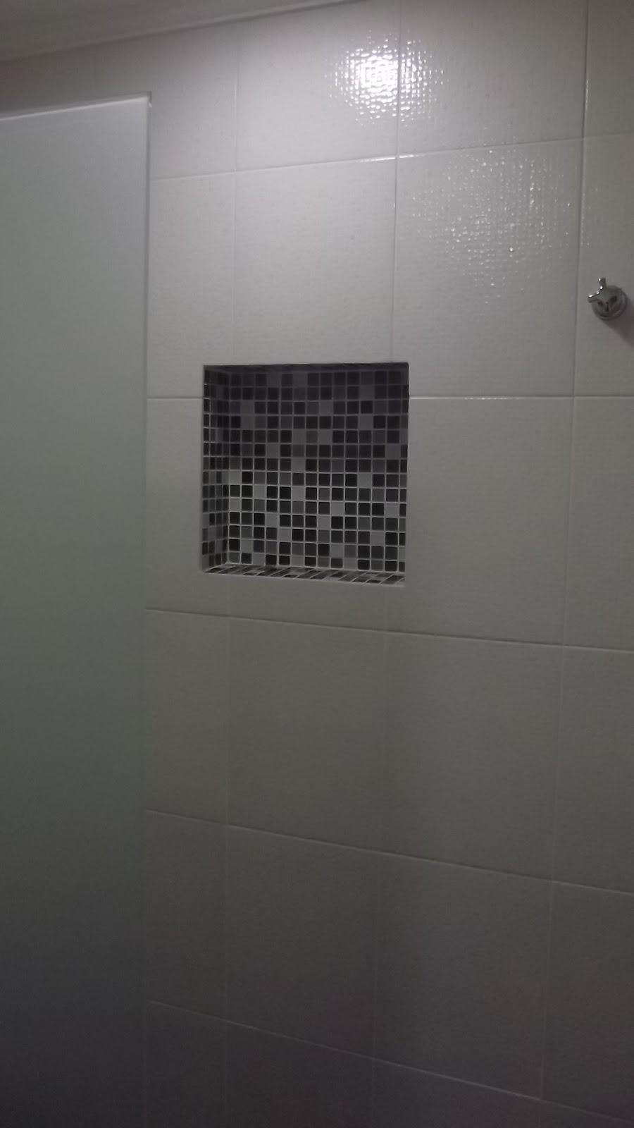 se fosse na minha casa Mais um antes e depois banheiro -> Nicho Para Banheiro Campinas