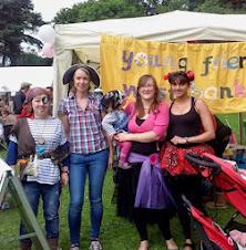 Crafty Ladies at the Fair! June 29 2014