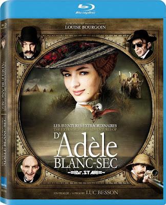 The Extraordinary Adventures of Adèle Blanc Sec 2010 Dual Audio 720p BRRip 550Mb HEVC