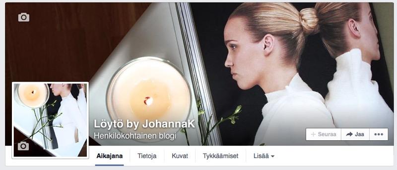 Löytö blogin Facebook banneri