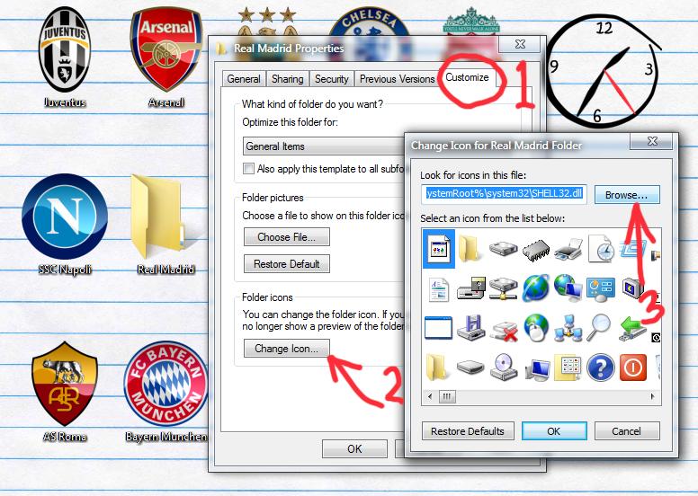 wordpres how to change tab icon