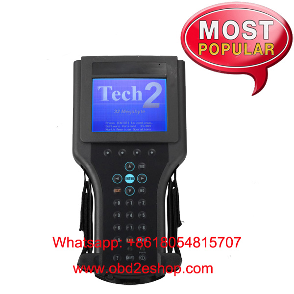 GM Tech2 Diagnostic Scanner with TIS2000 Software Full Package