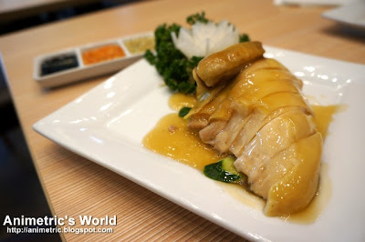 Hainanese Chicken at Wangfu Chinese Cafe
