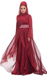 baju pesta muslimah