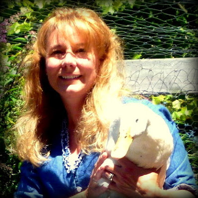Lisa and Penelope Pekin Duck