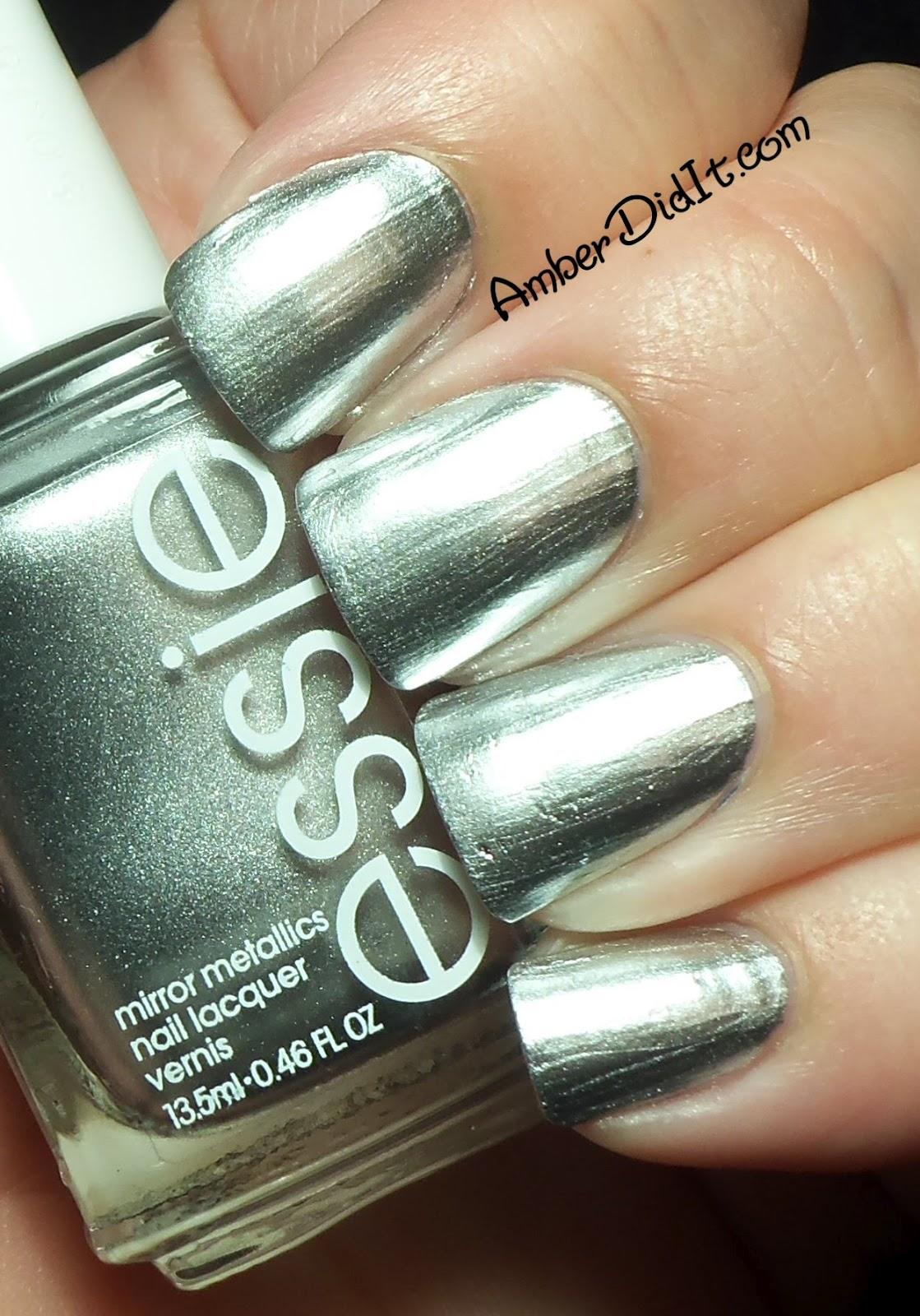Essie Chrome Nail Polish Swatches | Hession Hairdressing