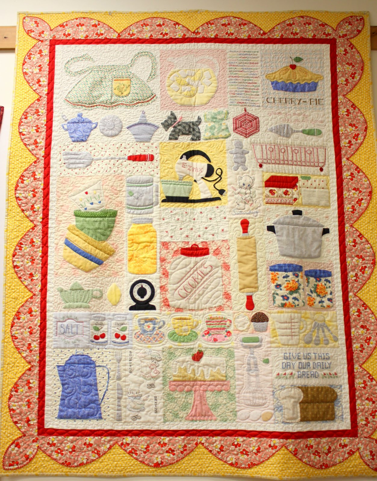 Lori holt quilter extrordinaire diary of a quilter a for Kitchen quilting ideas
