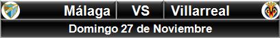 Málaga vs Villarreal
