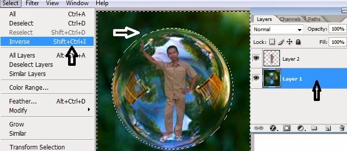 Cara Mudah Membuat Photo di Dalam Gelembung