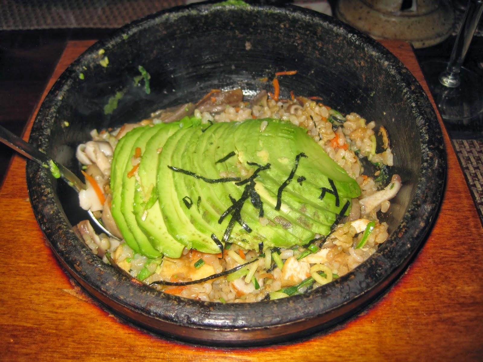 Gluten-Free Vegan Avocado Stone Bowl Rice Hangawi