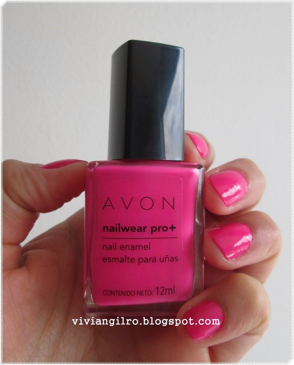 Review esmalte Viva Pink de Avon ~ Viviangilro