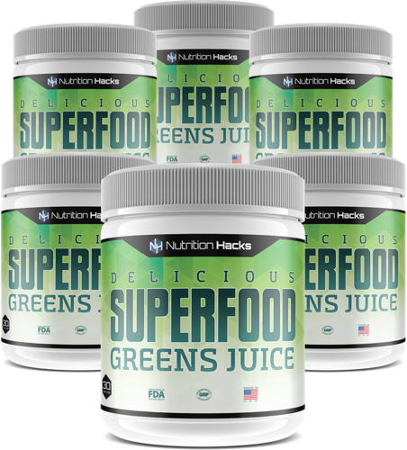 MY ABSOLUTE FAVORITE SUPERFOODS GREENS JUICE MIX