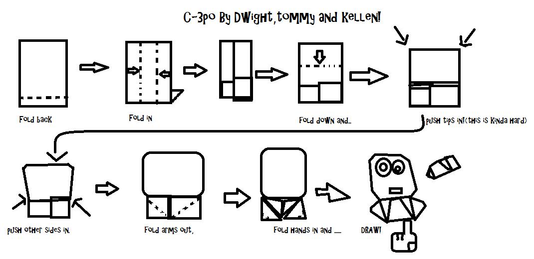 origami c3p0