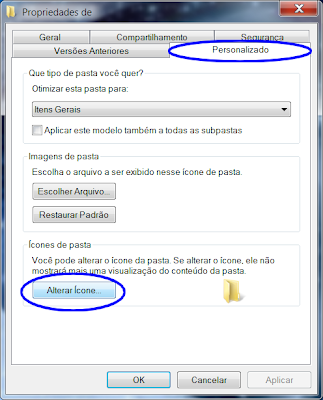 truque pasta invisivel windows 7