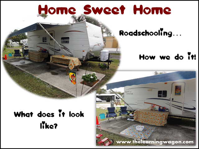 http://rvclassroom.blogspot.com/2013/11/roadschooling-set-up.html